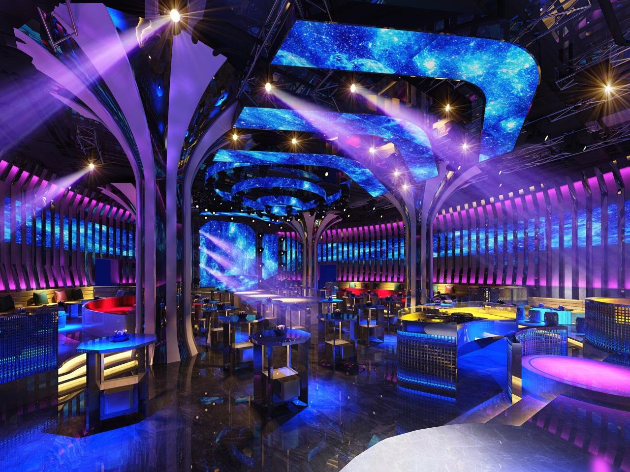 Không gian bên trong  New Phương Anh Bar