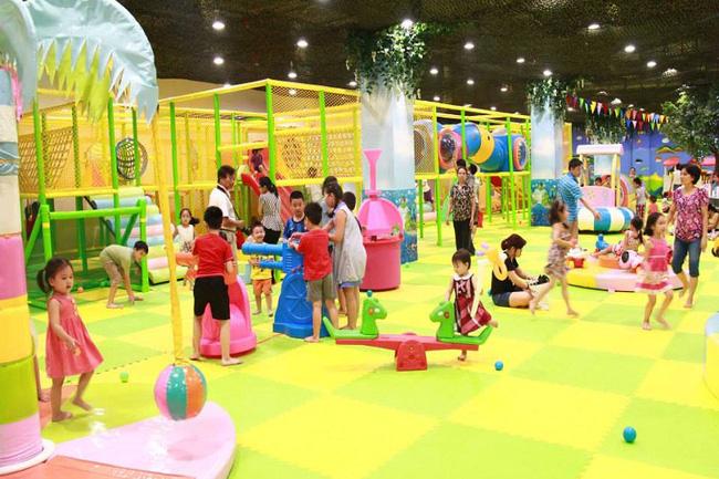 Khu vui chơi trẻ em hiện đại và ấn tượng tang tầng 3